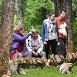 photo de groupe dans le parc